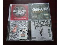 4 x Rock CDs My Chemical Romance, Paramore, Kerrang(2)