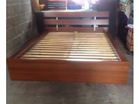 IKEA KING SIZE BED
