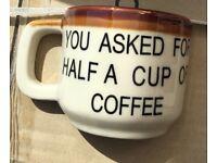 Vintage Cyprus Half A Coffee