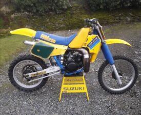 suzuki rm250 1984 evo lovely clean bike pre 85 rm 250