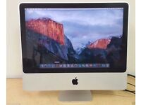 "Apple iMac 24"" Core 2 Duo 4GB RAM 500GB HDD 3 MONTH WARRANTY"