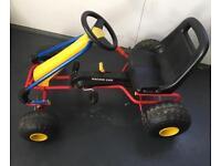 Kids racing car go cart
