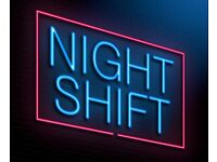 Looking for permanent night job!