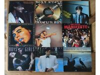Roxy Music and Bryan Ferry Vinyl Lps Collection