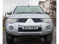 Mitsubishi L200 Warrior with rear cab