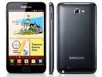 Samsung galaxy note one N7000 sim free in black