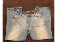 "Men's Burton Jeans Waist 40"" Reg Length (Smoke/Pet Free Home)"