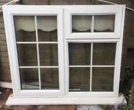 UPVC DOUBLE WINDOW