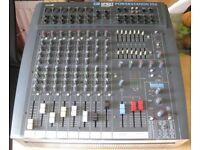 SOUNDCRAFT SPIRIT POWERSTATION 350 PA mixer amp + FX.