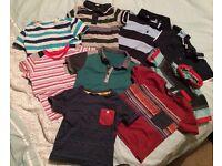 Boys t-shirt bundle Age 18-24 Months