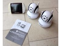 Motorola video baby monitor (MBP 36/2)