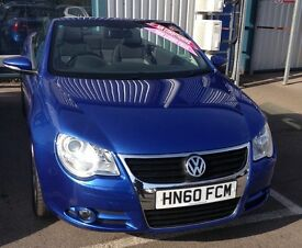 2010 Electric Blue VW Eos 1.4 TSI FOR SALE