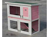 Rabbit/ Guinea Pig Hutch Double decker