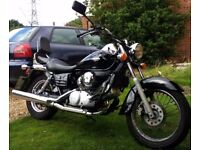 Honda Shadow V Twin 125 cc 2006 - average mileage