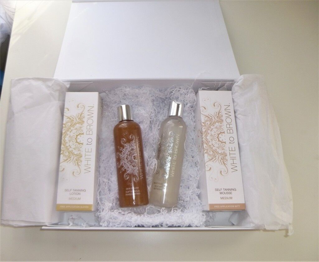 5215b23f1d3 White to Brown tanning set | in Streatham, London | Gumtree