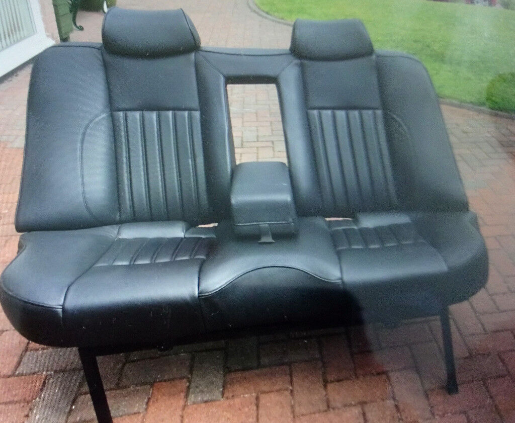 Custom Built Upcycled Car Seat Sofa For Cinema Room Or Waiting Room