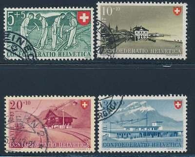 Schweiz Nr. 480-483 gestempelt, Pro Patria 1947 (39108)