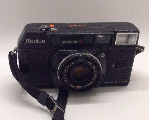 Old Konica C35 MF FILM Camera 35mm Hexanon 38mm F 2.8 Japan - $5.99