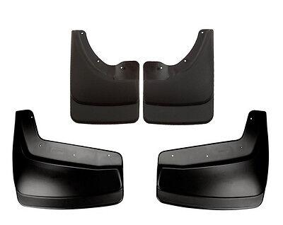 HUSKY Mud Flap Guards Dodge Ram 2500 & 3500 Mega Cab 06-09 Dually (Front & Rear) ()