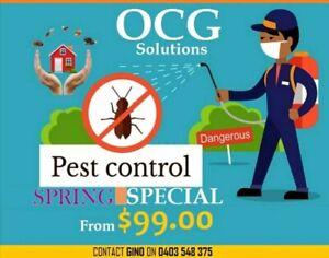 Quality pest and termite control