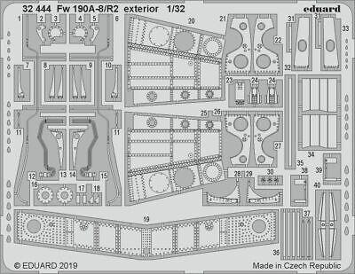 Eduard PE 32444 1/32 Focke-Wulf Fw-190A-8/R2 exterior details Revell