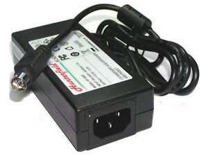 12V 4 Pin AC adapter for Avtex W153D TV. Can replace 4-pin AK083, SAWA-010500