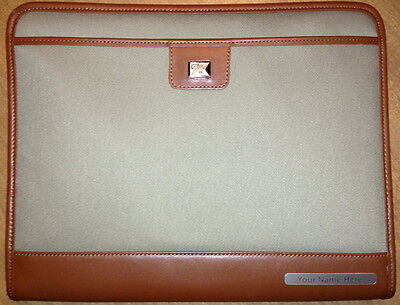 Blems Personalized Cutter Buck Padfolio Leather Cloth  With Blems