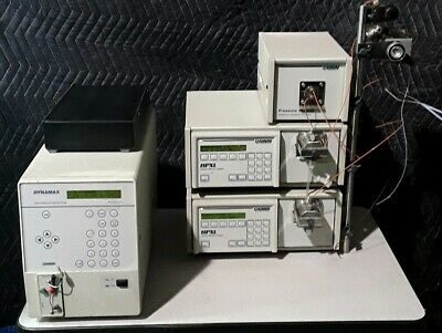 Rainin Dynamax Absorbance Detector Model Uv-1pressure Module Maximum Psi 8700