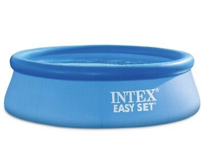 """Intex 8' x 30"""" Easy Set Round Inflatable Above Ground Pool w/ Filter Pump"""