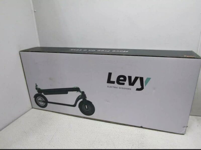 Levy Electric Scooter - Brand New, Never Used