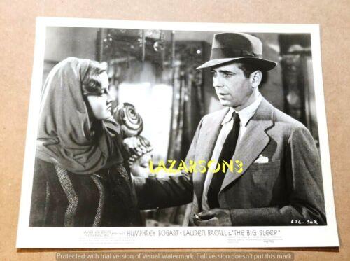 HUMPHREY BOGART ORIG BIG SLEEP PHOTO FILM NOIR MARTHA VICKERS 1946