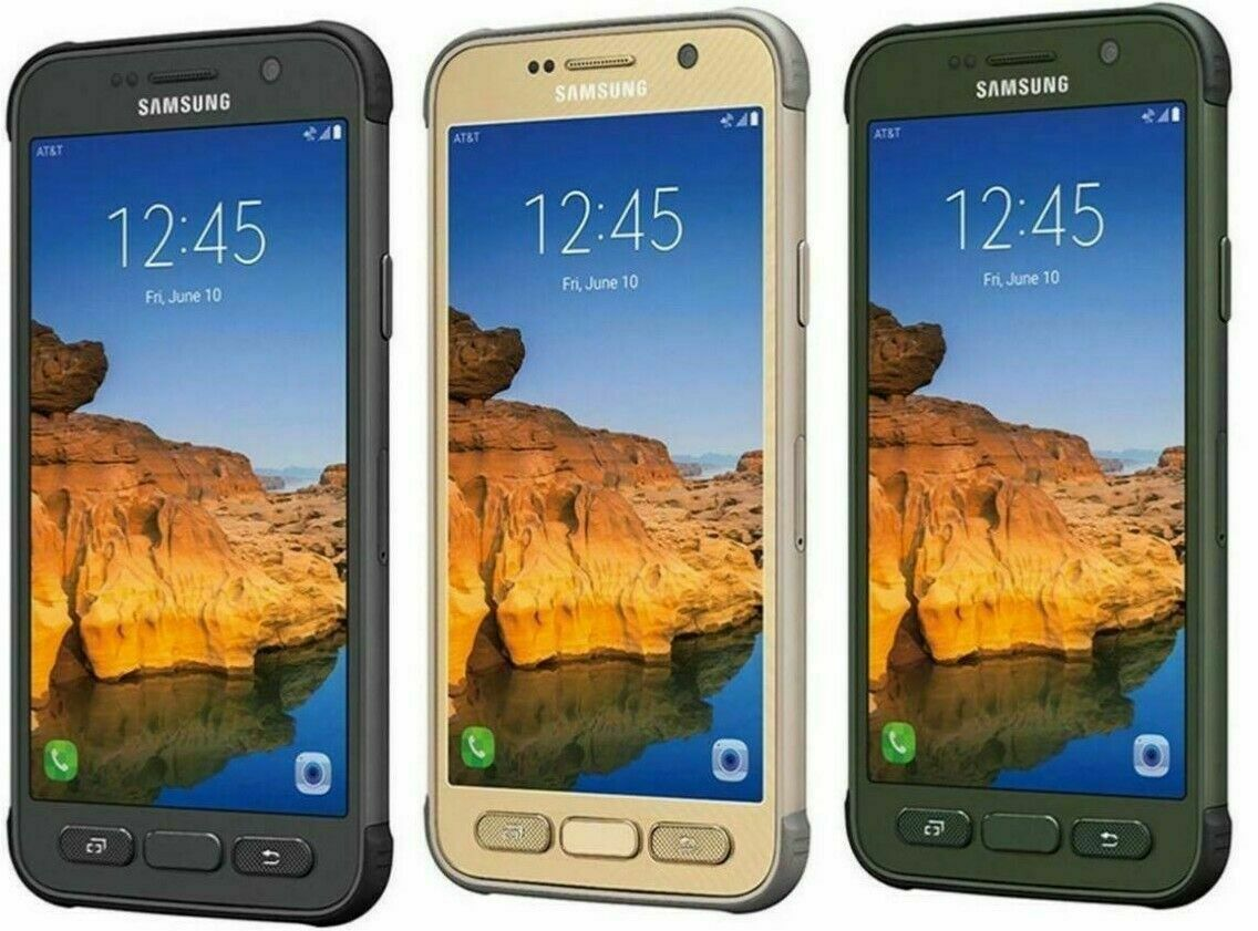 Android Phone - Samsung Galaxy S7 Active G891A AT&T ONLY or GSM Unlocked Android Smartphone Cell