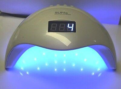Sun5 Plus 48W LED Nagel Licht UV Lampe Maniküre Trockner Aushärtung UV Gel  - Uv Gel Lampe
