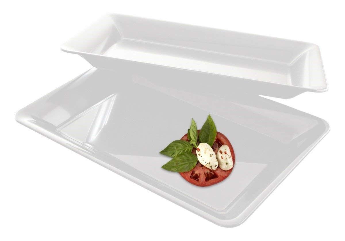 5 rectangle plastic trays heavy duty plastic