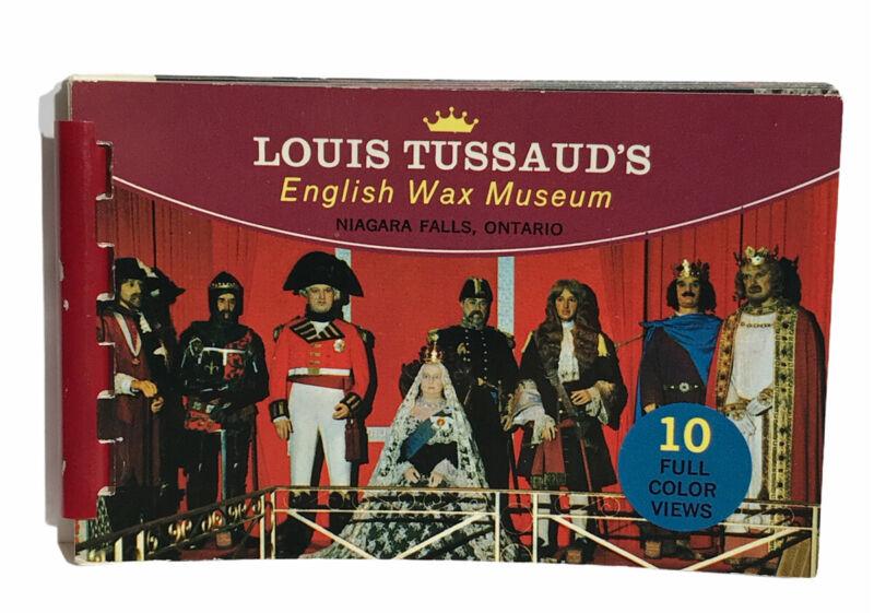Vintage Souvenir Photo Book Louis Tussaud
