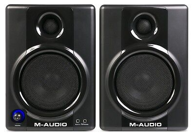 M-Audio AV 40 - Studio Monitor Pair    AV40 Speakers on Rummage