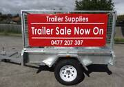 "6x4 Trailer 600 Cage Galvanised TIPPER 6leaf spring 14"" wheel upg Noble Park North Greater Dandenong Preview"