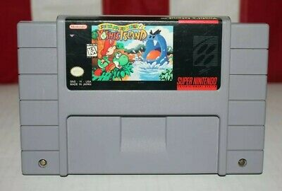 Super Mario World 2: Yoshi's Island Super Nintendo SNES Cartridge Tested