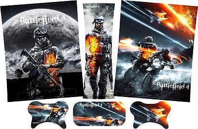 Battlefield 4 Xbox 360 Skins Pegatinas de Vinilo Consola Almohadillas Mandos