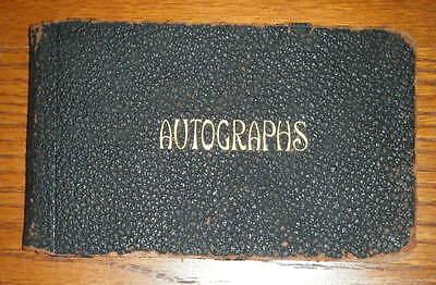1914 Opera Autograph Album- Includes Dame Nellie Melba Signature [Melba Toast]