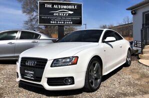 2010 Audi A5 2.0L Premium S-LINE COUPE NO ACCIDENT