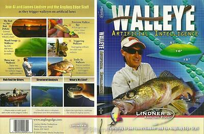 Lindner Walleye Fishing Artificial Intelligence DVD NEW