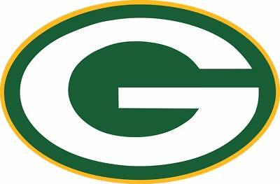 Green Bay Packer Logo (Green Bay Packers Logo NFL Color Die Cut Vinyl Decal/Sticker You Pick the)