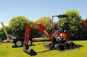 MINI EXCAVATOR HIRE Brisbane Region Preview