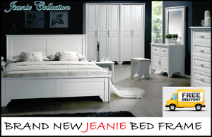 FREE DELIVERY QUEEN Size WHITE Jeanie Bed Frame – BRAND NEW New Farm Brisbane North East Preview