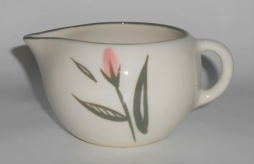 Winfield Pottery China Pink Floral Creamer
