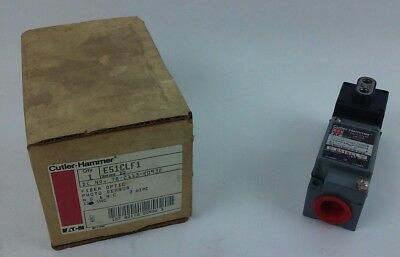 Cutler Hammer E51clf1 Fiber Optic Photoelectric Sensor New