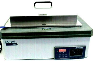 Fisher Scientific Isotemp 220 Digital Shaking Water Bath Warranty