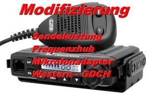 CRT-Millenium CB Funkgerät Modifizierung 25W + 6pol GDCH