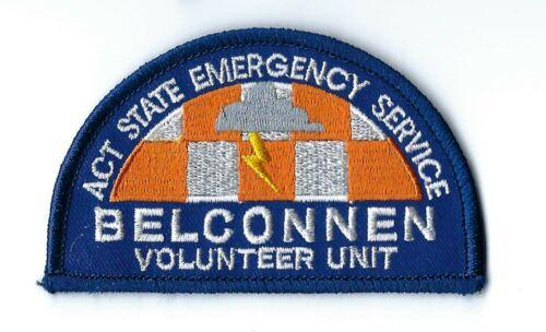 Australian Capital Territory ACT Emergency Service BELCONNEN Vol. Unit patch NEW